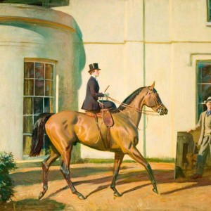My Wife, My Horse and Myself - Copyright the estate of Sir Alfred Munnings