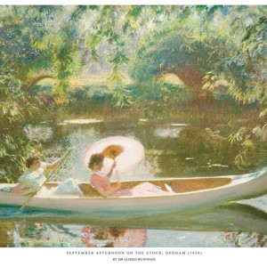September Afternoon Print - Copyright the estate of Sir Alfred Munnings