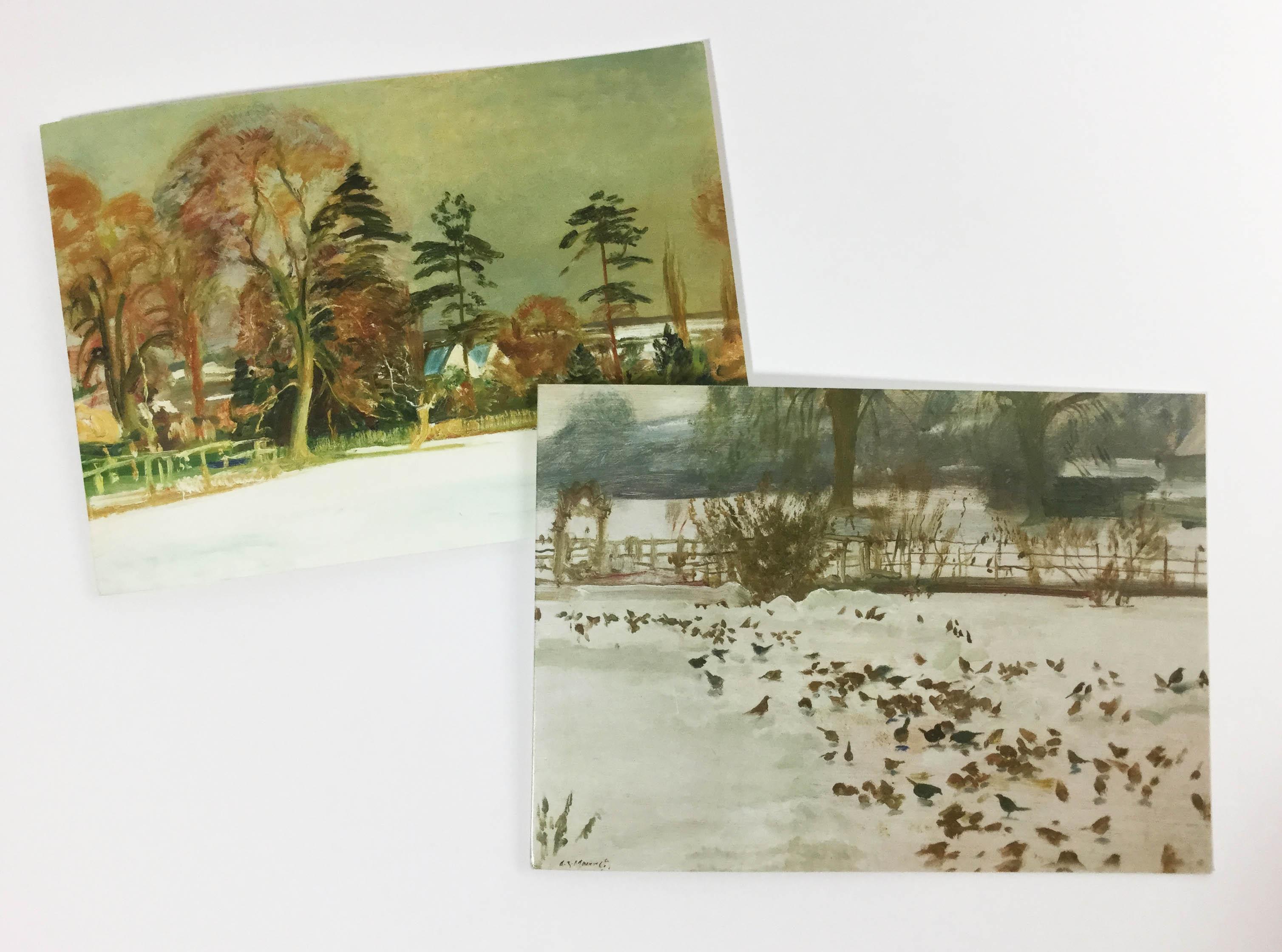 Christmas Cards (winter scenes) – Munnings Museum